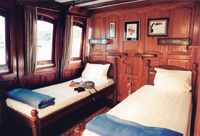 Twin cabin on board