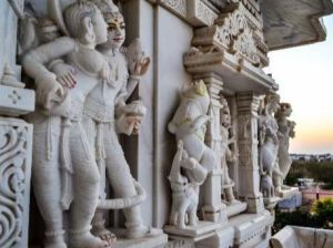 Temple statues